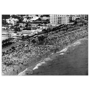 Spring Break: Aerial View of Fort Lauderdale