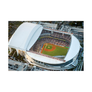 Aerials: Marlins Opening Day II