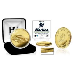 "Miami Marlins ""Stadium"" Gold Mint Coin"