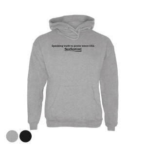 "Sun Sentinel ""Speaking Truth to Power"" Hoodie"