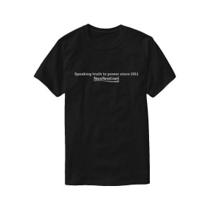 "Sun Sentinel ""Speaking Truth to Power"" T-Shirt"