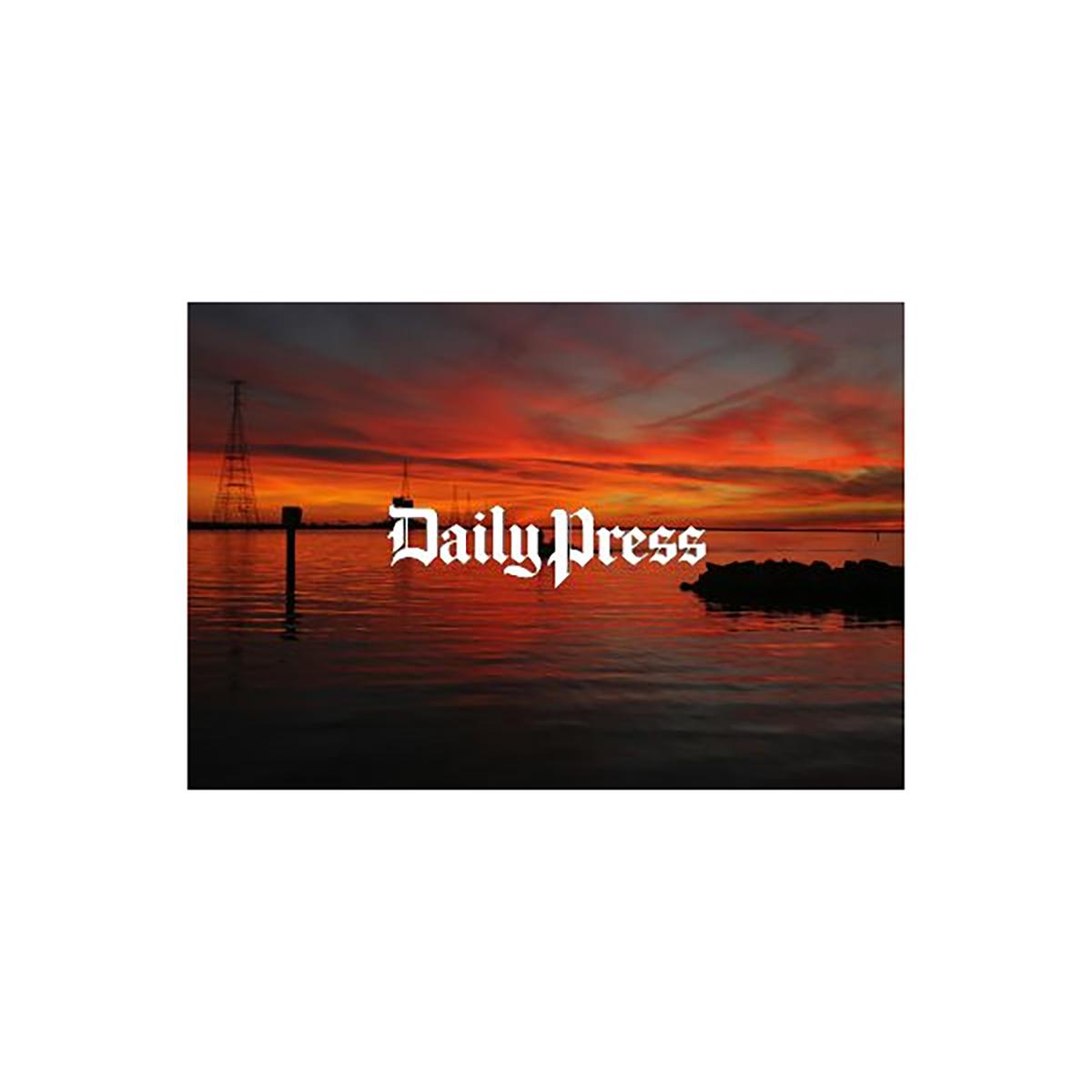 Hampton Roads Scenery: Huntington Park Sunset