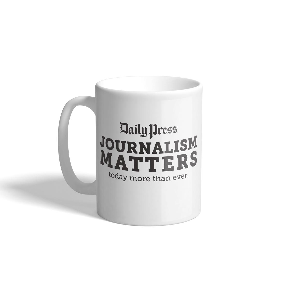 Daily Press Journalism Matters Mug