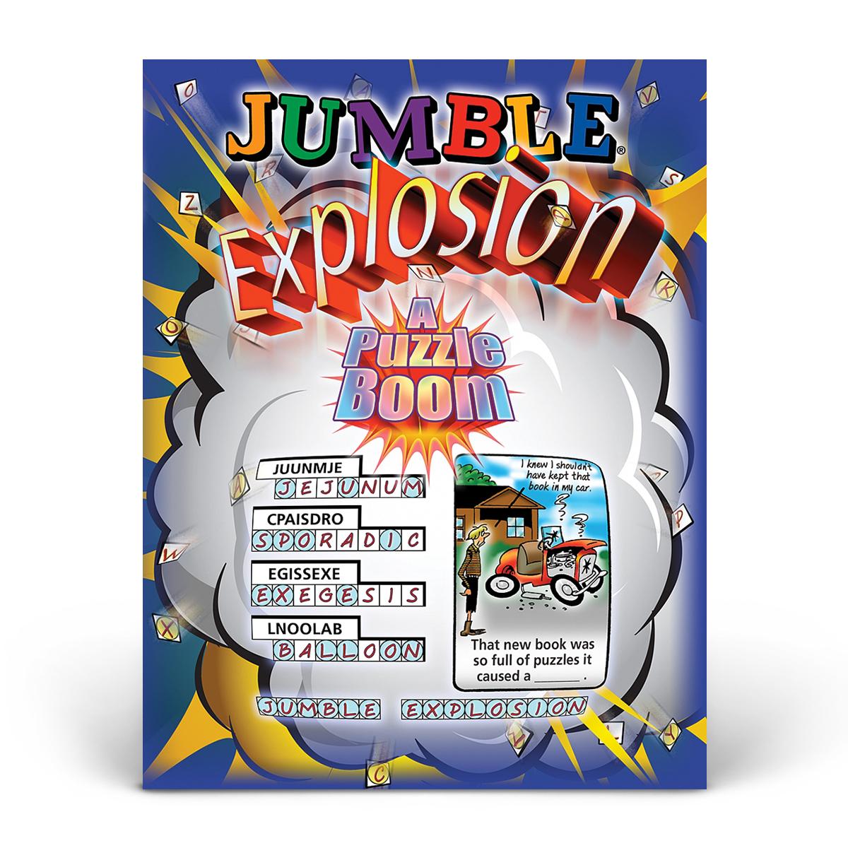 Jumble! Explosion