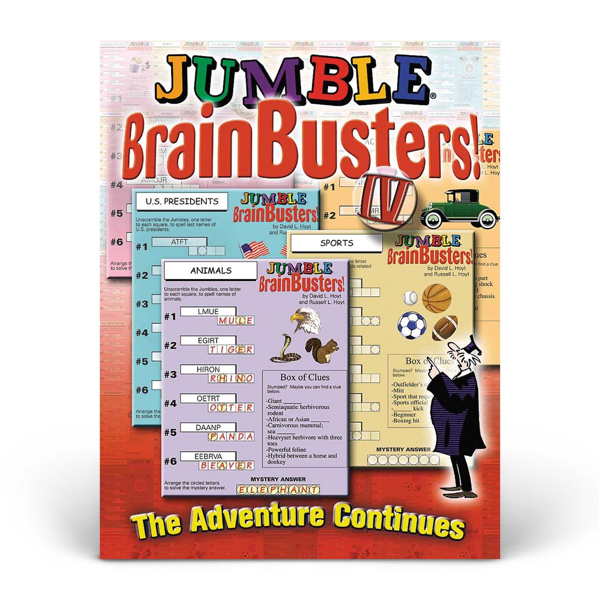 Jumble! BrainBusters! IV