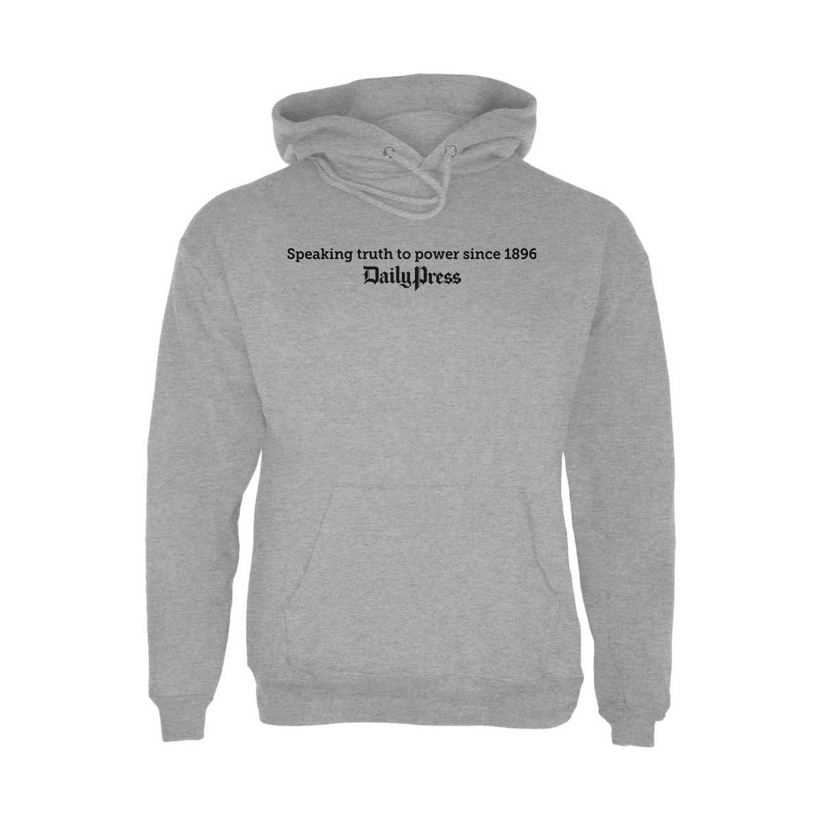 "Daily Press ""Speaking Truth to Power"" Hoodie"