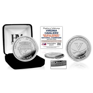 University of Virginia 2019 NCAA Men's Basketball Champions Silver Mint Coin