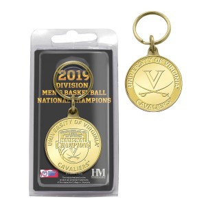 University of Virginia 2019 NCAA Men's Basketball Champions Bronze Coin Key Chain