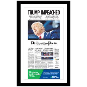 """Trump Impeached"" 12/19/2019 Page Print"