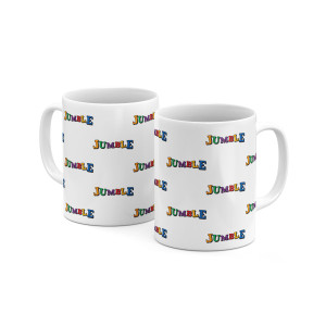 Jumble All Over Mug