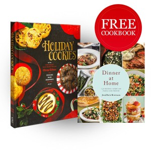 Holiday Cookies: Prize-Winning Family Recipes from the Chicago Tribune With Free Copy of Dinner at Home: 140 Recipes to Enjoy with Family and Friends