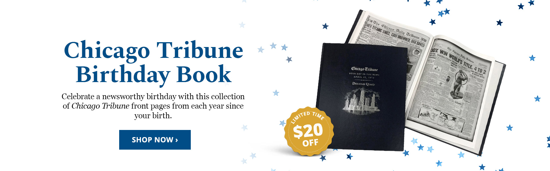 Chicago Tribune Birthday Book