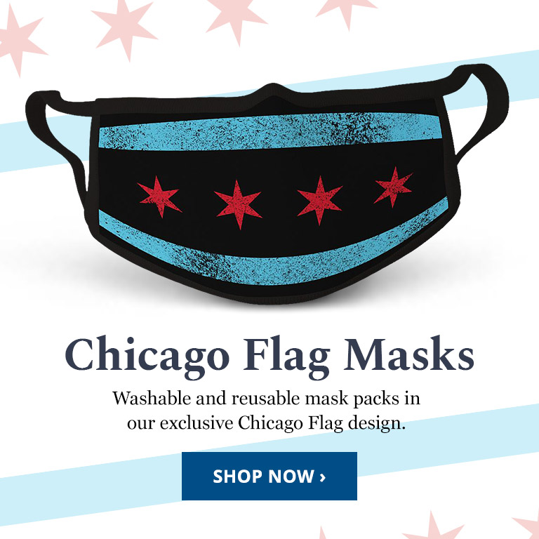 Chicago Flag Face Mask Pack