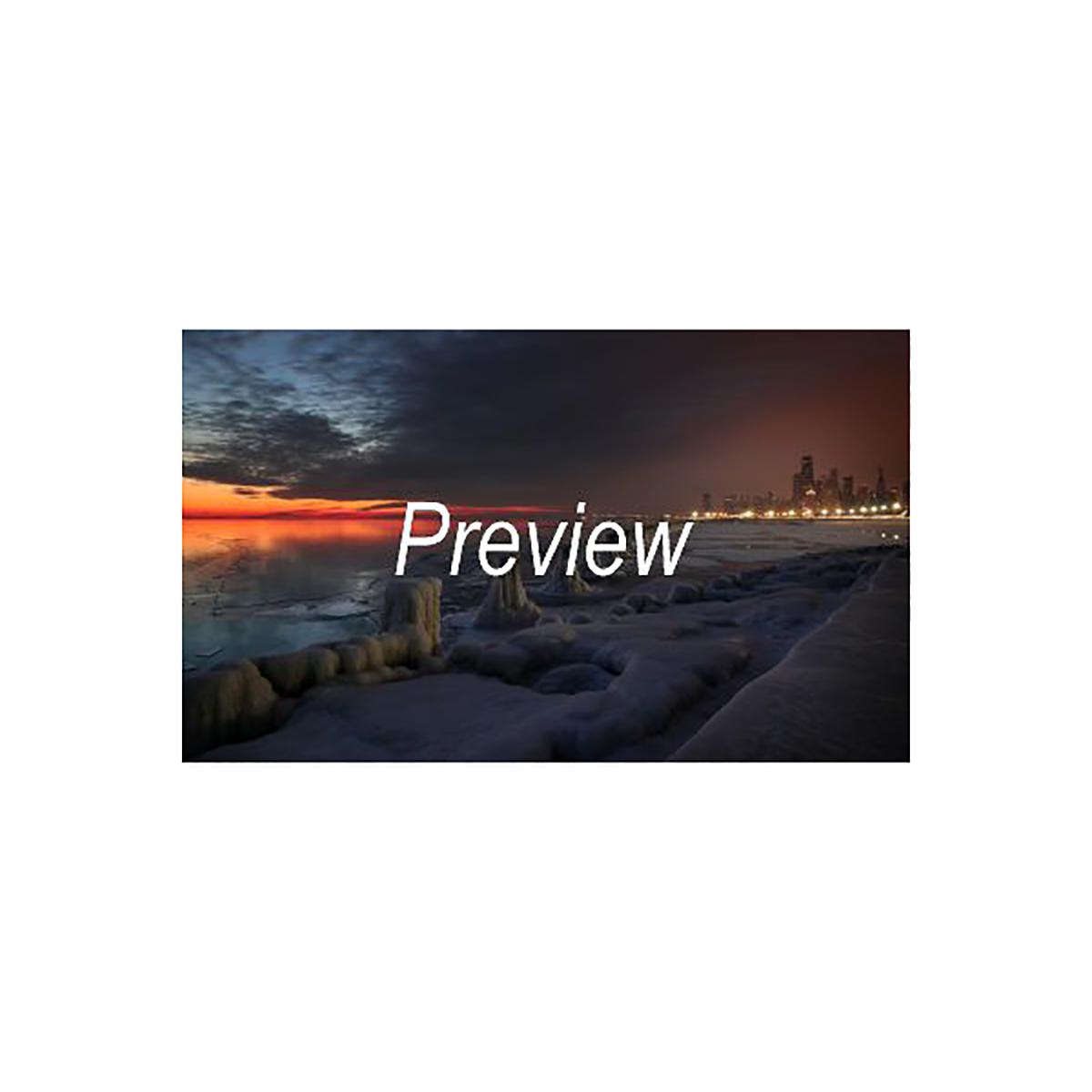 Lake Michigan in Winter Photograph