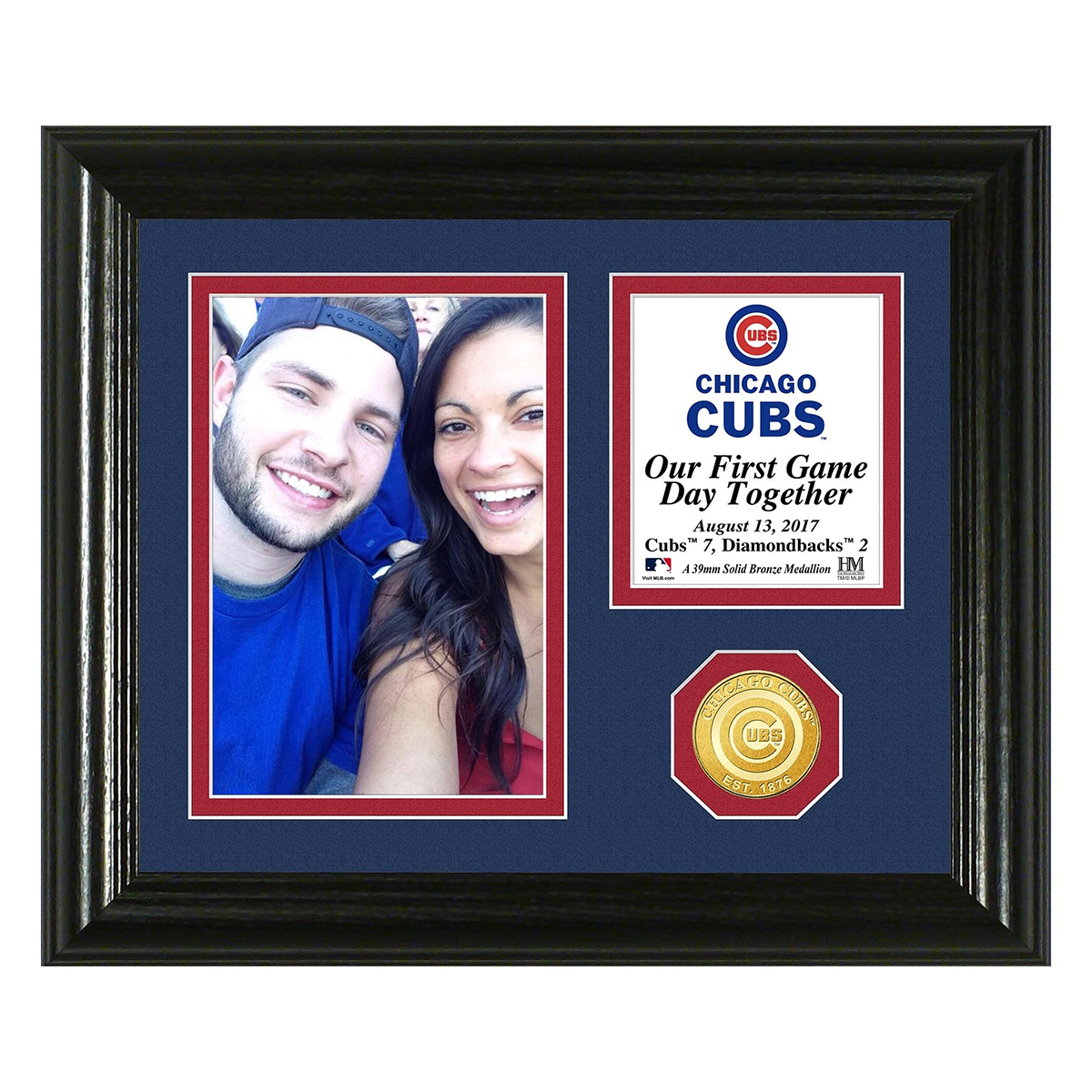 Chicago Cubs Game Day Memories Personalized Photo Frame