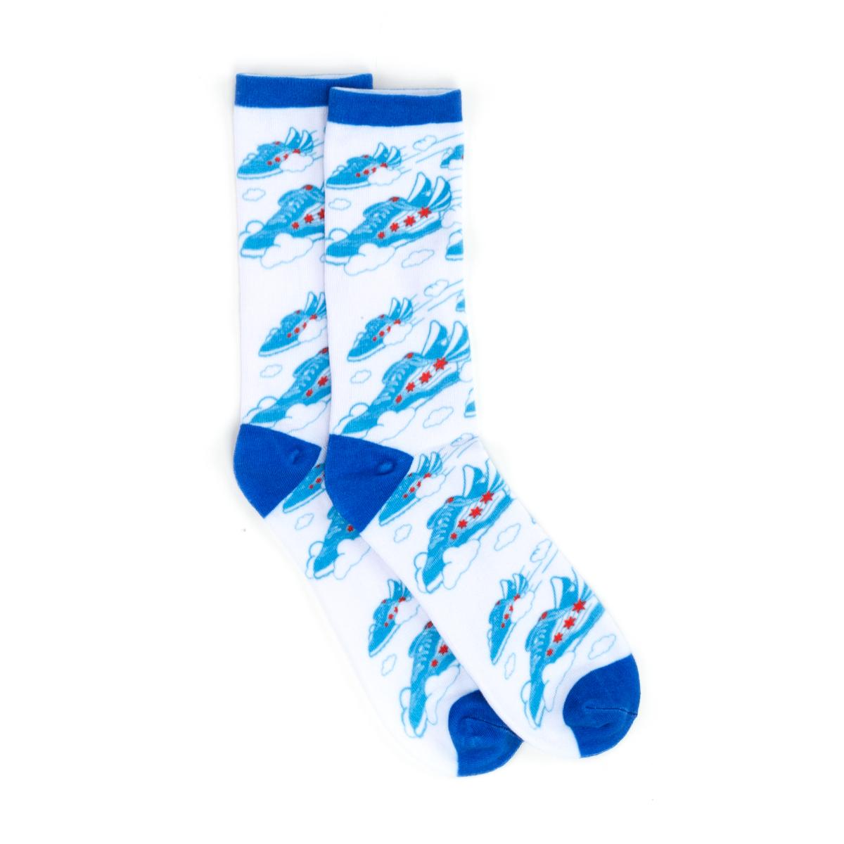 Flying Shoe Socks