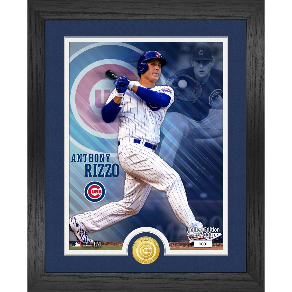 Anthony Rizzo Bronze Coin Photo Mint