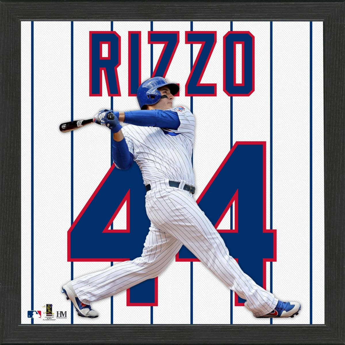 Anthony Rizzo Impact Jersey Framed Photo