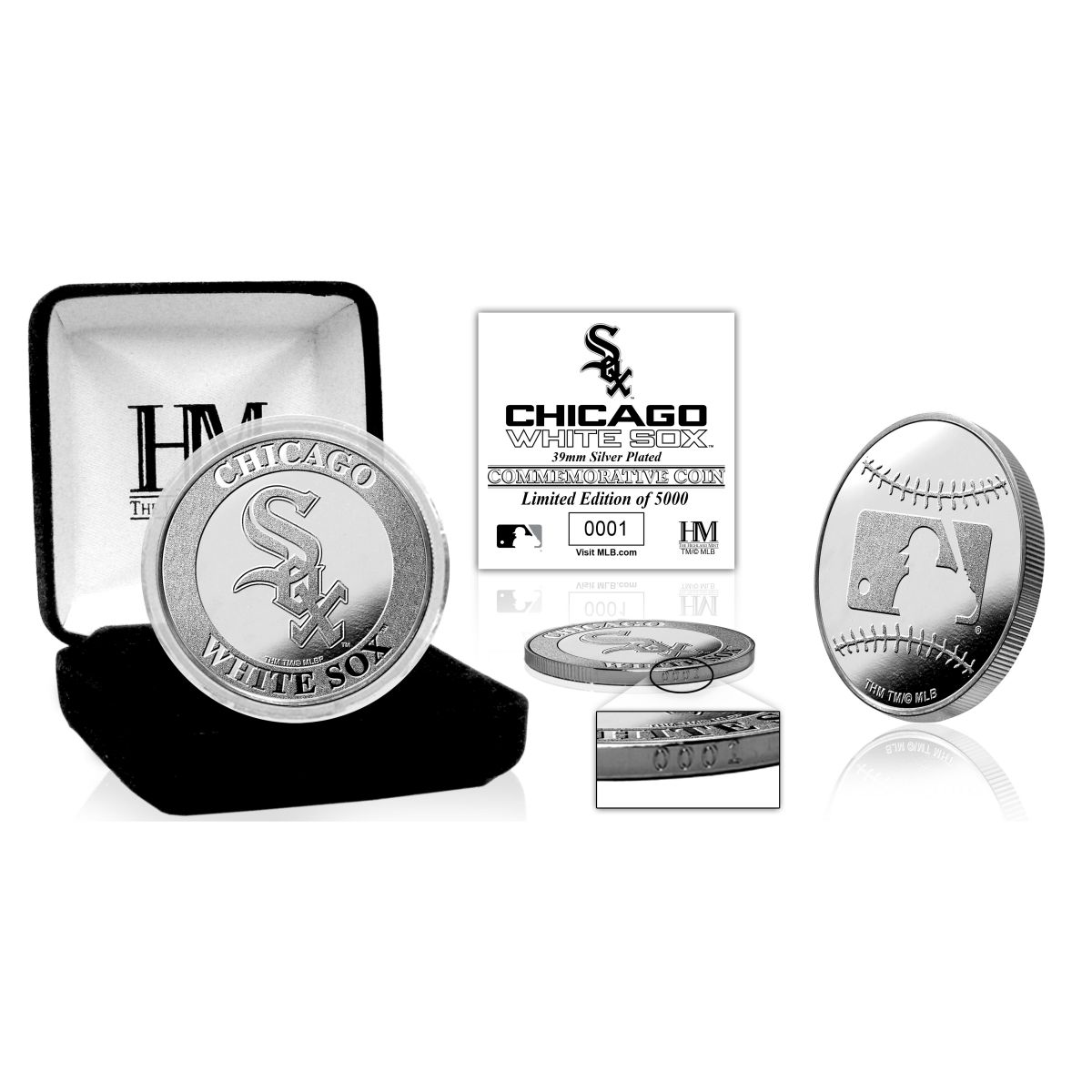 Chicago White Sox Silver Mint Coin
