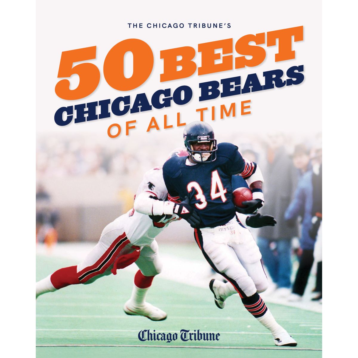 50 Best Chicago Bears of All Time Book