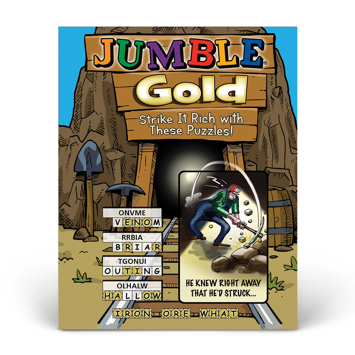 Jumble! Gold: Strike It Rich with These Puzzles!