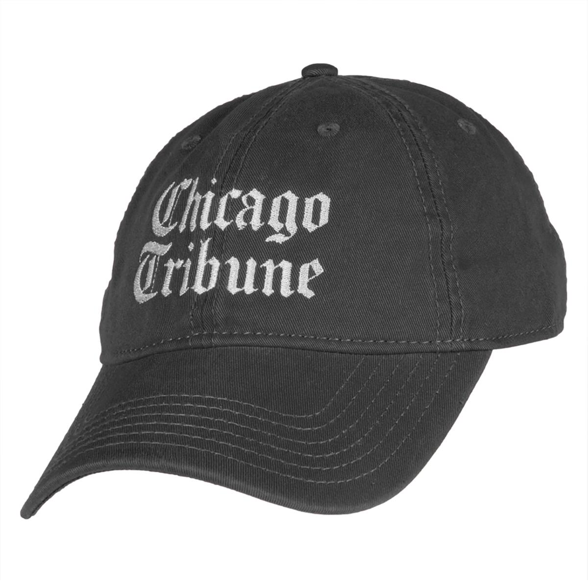 Chicago Tribune Grey Adjustable Cap