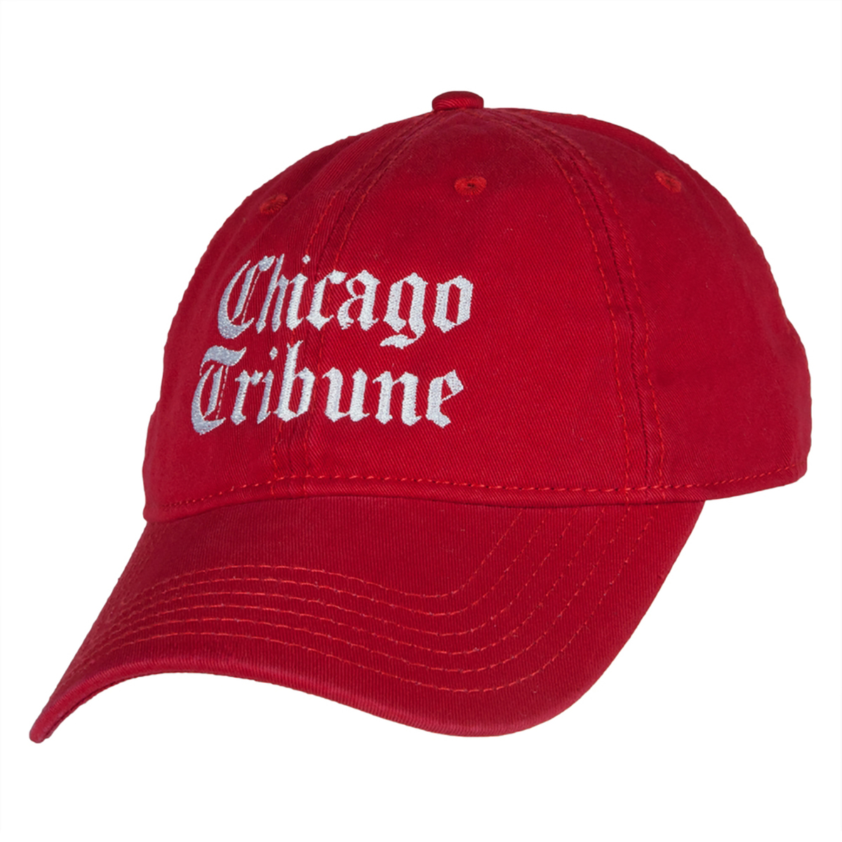 Chicago Tribune Red Adjustable Cap