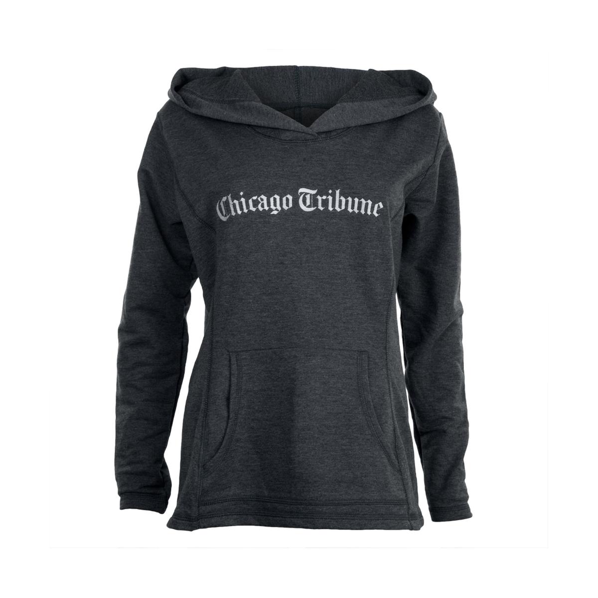 Chicago Tribune Grey Women's Hoodie