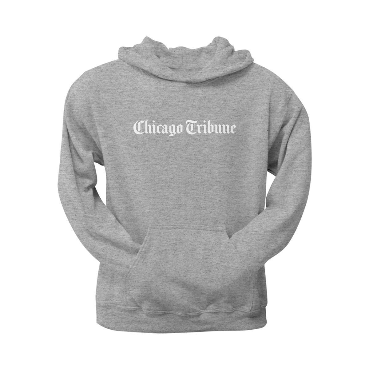 Chicago Tribune Grey Pullover Hoodie