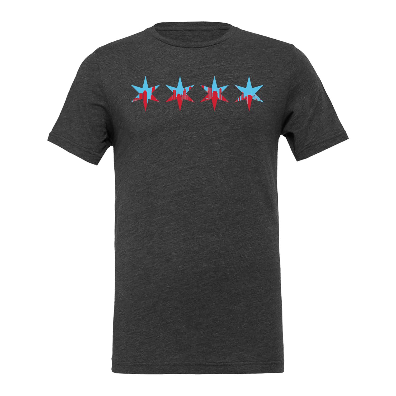 Stars Chicago Skyline Shirt