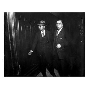 Al Capone in Criminal Court Photograph