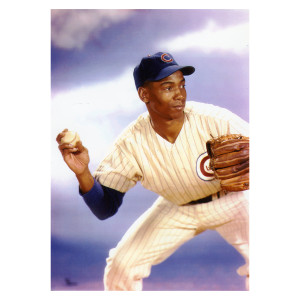 Ernie Banks Studio Photo 1959