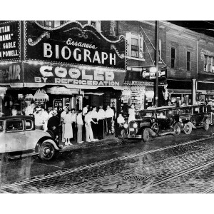 The Biograph Theater on Lincoln Avenue (1934)
