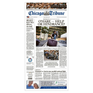 Chicago Tribune Back Issues