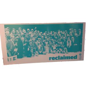 RedEye 'Reclaimed' Chicago Blackhawks Press Plate