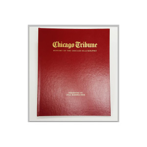"""History of the Chicago Blackhawks"" Personalized Newspaper Book"