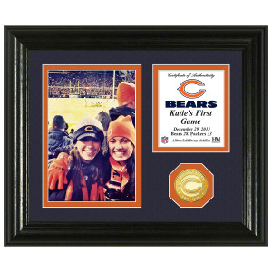 Chicago Bears Game Memories Personalized Photo Mint