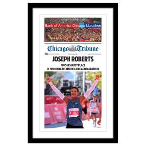 2018 Marathon Personalized Souvenir Front Page Print