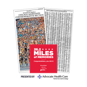 2018 Chicago Tribune Chicago Marathon Commemorative Results