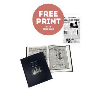 Chicago Tribune Commemorative Date Book with Free Front Page Print