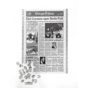 Chicago Tribune Custom Front Page Puzzle