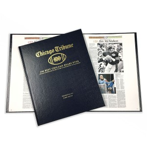 Chicago Bears Top 100 Players Newspaper Book