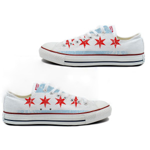 Chicago Flag Converse All-Star Low Top