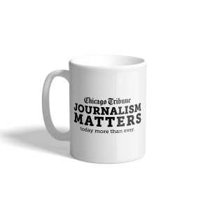 Chicago Tribune Journalism Matters Mug