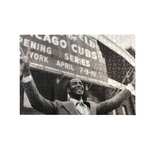 Ernie Banks Victory Jigsaw Puzzle