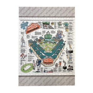 Faker's Guide to Wrigley Field Jigsaw Puzzle