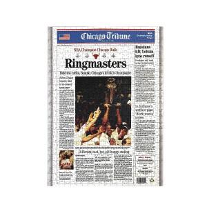 "Chicago Bulls 1996 Championship ""Ringmasters"" Jigsaw Puzzle"