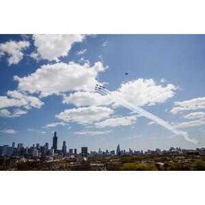 Blue Angels Pandemic Flyover