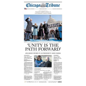"""""""Unity Is the Path Forward"""" Jigsaw Puzzle"""