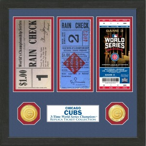 Chicago Cubs World Series Ticket Collection